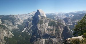 Half Dome panoramic 1 by timberwolf90