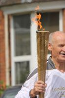 olympic torch relay. by JadeGreenbrooke
