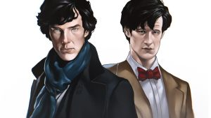 Sherlock X Doctor Who by TheAngryMammoth