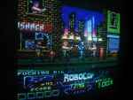RoboCop Prime screen on real CPC by Carnivius