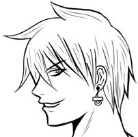Dex profile finished - lineart by Dex91