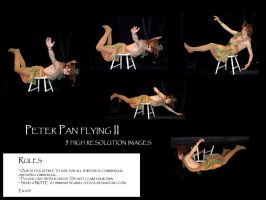 Peter Pan flying II by Mithgariel-stock