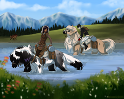 Rite of Fortitude - Naja and Bonny by Opium5