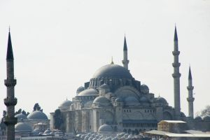 Istanbul from the ferry by Heurchon