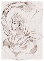 the rose fae by Centi