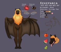 Kekepania Reference Sheet by ThreadandClaws