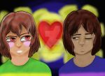 Frisk N Chara by youtubefreak503