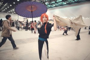 Cosplay - Gintama - Kamui by roamest