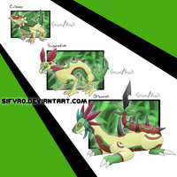 Fakemon: Grass starter by sifyro