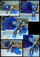 Nightmare Moon Sculpture by gileda