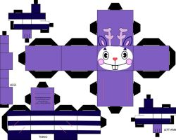 Mime Cubeecraft by straffehond