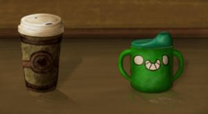 Compairing Cups by LaughingSkeleton