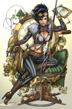 Lady Mechanika, M. De Balfo by sinhalite