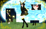 Umbreon Gijinka .:Contest Entry:. by TheChaoticMuffin