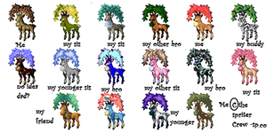 Sawsbuck collection by pokefansisboeseplz