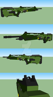 Request SPRTN's rifle concept by Atawai-Dragons