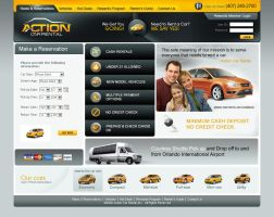 Action Car Rental by DOVeDesigns