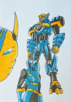 ONIRANGERS part 1: BLUE ONI by kishiaku