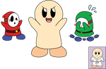 Shy Guy Streak by nekoni-chan