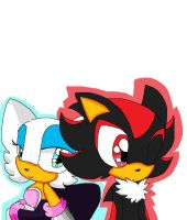 Shadow and Rouge by joankungufgirl1031