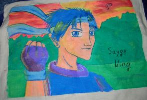 Sayge pillow by shadow-inferno