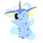 Vaporeon the Cutie by Alison-Earth-Ninja
