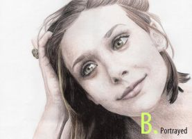 Elizabeth Olsen by B-Portrayed