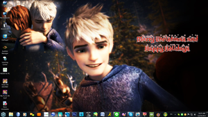 Jack Frost - ROTG - Christmas 2013 Desktop by PharaohAtisLioness