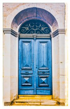 Greek Door by deepgrounduk