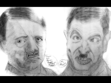 Who stole mein moustache? by Phead