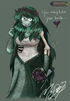 The Turtle Corpse Bride by nichan