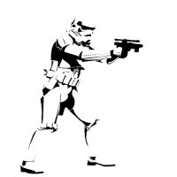 Clone trooper stencil by killingspr