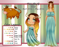 ZODIAC:   TAURUS  AUCTION ADOPT [Closed] by MamaGizzy