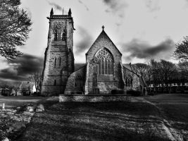 St Germans Cathedral by basement-ghost