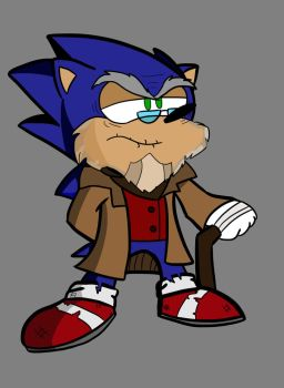 Sonic Forces- Future Sonic redesign by JorDanGo