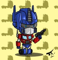 Mini Optimus by PsychoCaptain