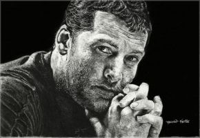 Sam Worthington by GauravHalbe