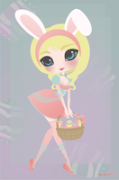 Easter Bunny by sinagtala