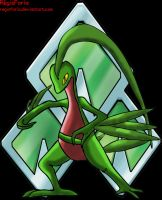 Grovyle by RegisFaria