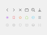 Browser UI Icons by creatiVe5