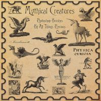 Mythical Creatures Brushes by AllThingsPrecious