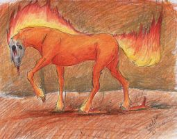 Firehorse by Ilka122