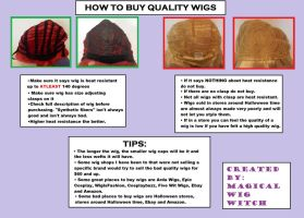 How to Shop for Quality Wigs by MagicalWigWitch