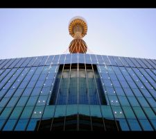 Towering above in Sydney's CBD by RaynePhotography