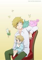Hetalia: Happiness and fairies by carichan