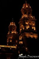 Catedral Night by Jos-Duc