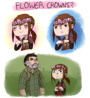 Flower crowns? by Jesscookie