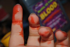 blood on my hands by AngelicPicture