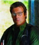 Daniel Jackson - Stargate SG-1 - Watercolor by riverfox1