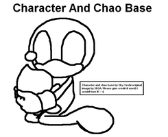 Character And Chao Base by Sky-Yoshi